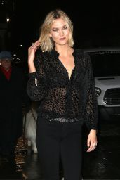 Karlie Kloss Night Out Style - New York City 12/04/2019