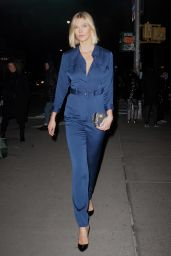 Karlie Kloss Night Out Style - Out in NYC 12/12/2019