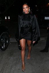 "Karrueche Tran - ""AGO"" Restaurant in West Hollywood 12/14/2019"