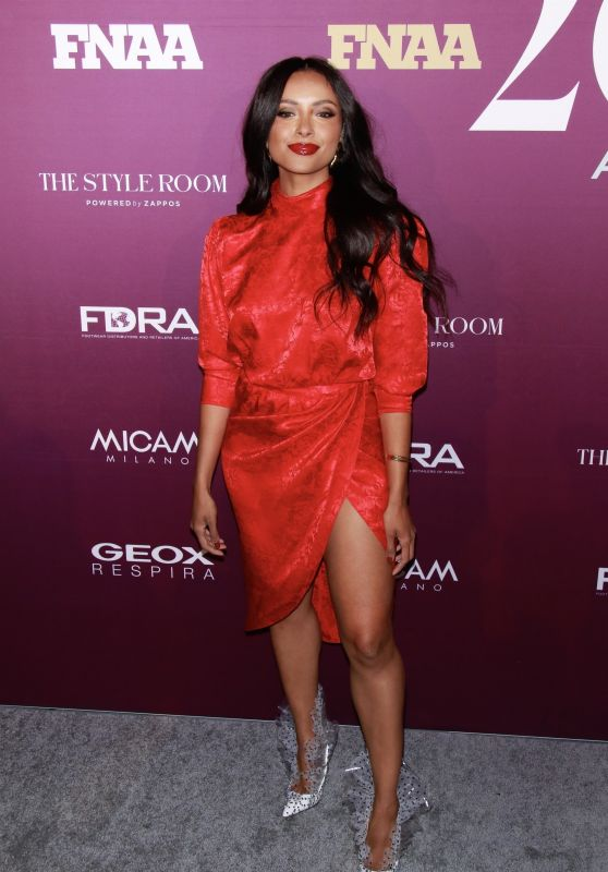 Kat Graham – Footwear News Achievement Awards 2019