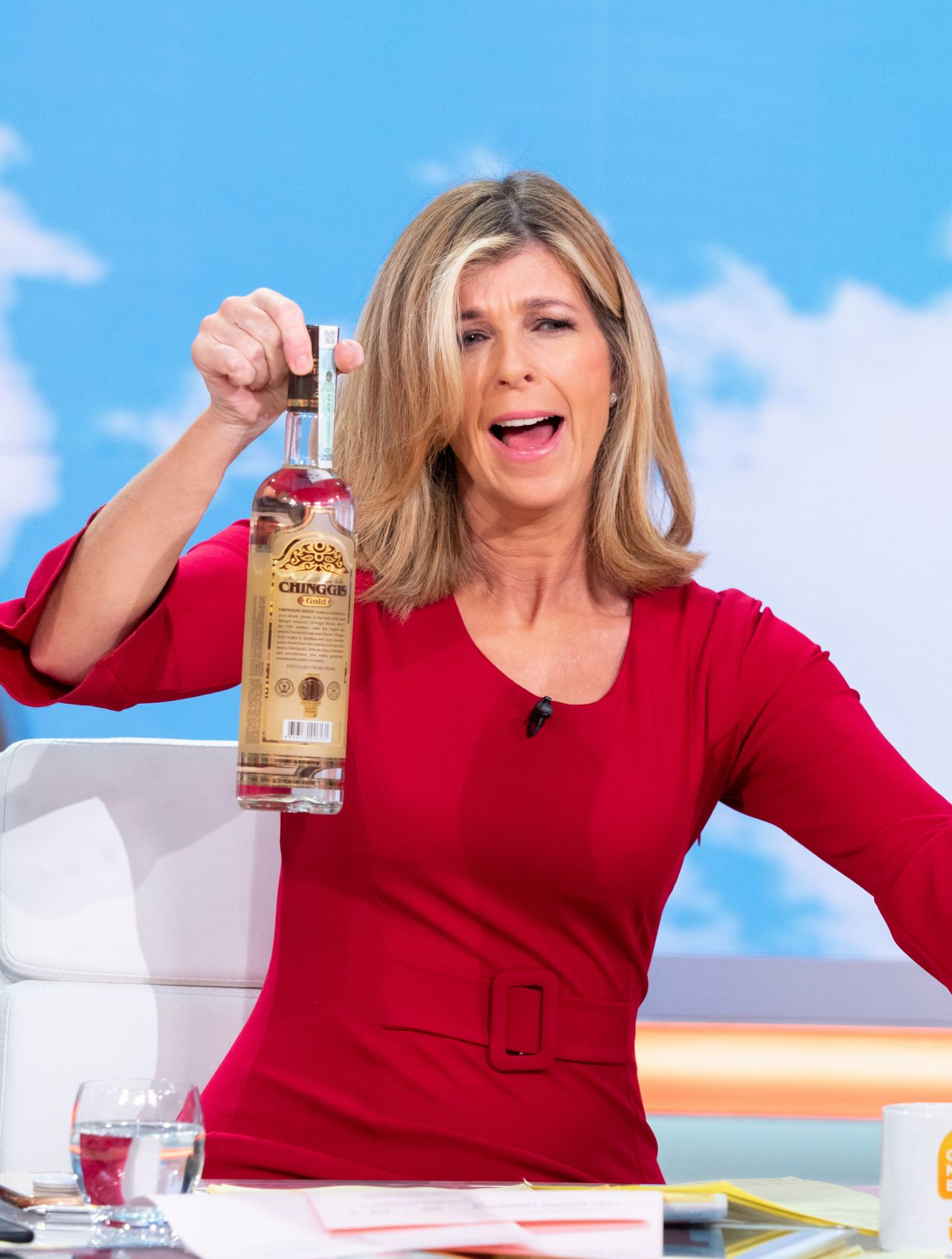 Good Morning Britains Kate Garraway forced to apologise