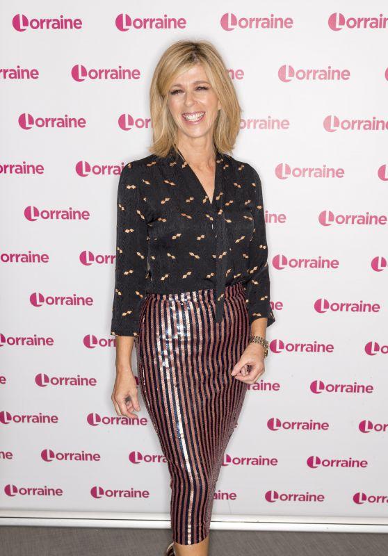 "Kate Garraway - ""Lorraine"" TV Show in London 12/18/2019"