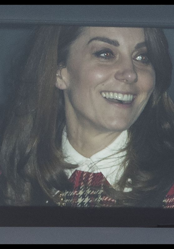 Kate Middleton - Christmas Lunch at Buckingham Palace in London 12/18/2019