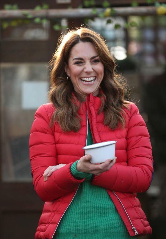 Kate Middleton - Visits Family Action at Peterley Manor Farm in Great Missenden 12/04/2019