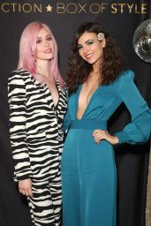 Katherine McNamara and Victoria Justice – Rachel Zoe Collection Box Style Holiday Event With Tanqueray in LA