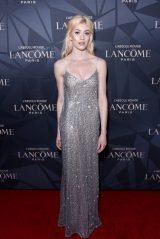 Katherine McNamara – Lancôme x Vogue L'Absolu Ruby Holiday Event in West Hollywood