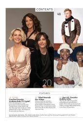 Katherine Moennig, Leisha Hailey and Jennifer Beals - The Advocate Magazine December 2019/ January 2020 Issue