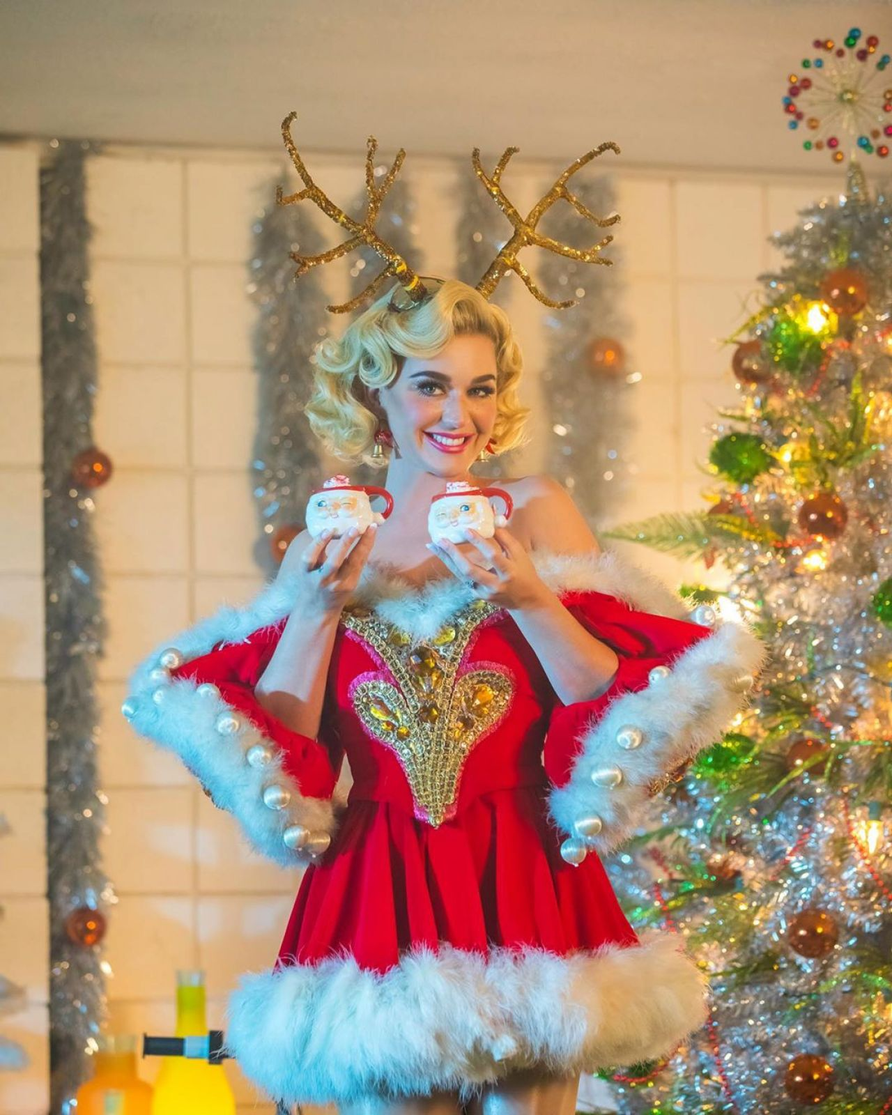 Image result for katy perry christmas 2019