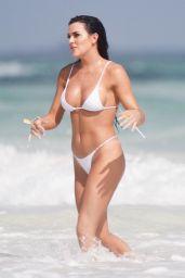 Kelsie Jean Smeby a in Bikini on the beaches of Tulum 12/30/2019