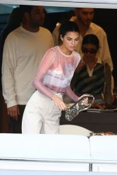 Kendall Jenner and Bella Hadid - David Grutman