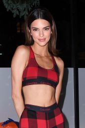 Kendall Jenner - Calvin Klein Pajama Party in New York City 12/11/2019