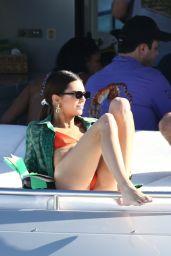 Kendall Jenner in a Red Bikini 12/06/2019
