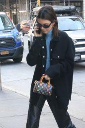 Kendall Jenner Street Style - New York City 12/12/2019