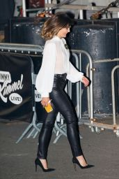 """Keri Russell - Arriving at the """"Jimmy Kimmel Live!"""" 12/16/2019"""
