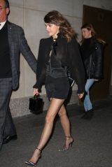 Keri Russell Night Out Style 12/12/2019