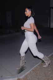 Kim Kardashian - Heading Out For Dinner in Los Angeles 12/04/2019