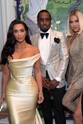 Kim Kardashian, Khloe Kardashian and Kylie Jenner - Sean Combs 50th Birthday Bash in Los Angeles