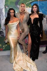 Kim Kardashian, Khloe Kardashian and Kylie Jenner - Sean Combs 50th Birthday Bash in Los Angeles