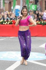 Kira Kosarin - Performing in the Nashville Christmas Parade 12/07/2019