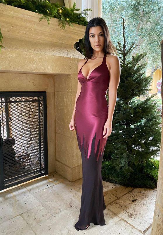 Kourtney Kardashian - Vogue Magazine December 2019