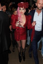 Lady Gaga - Arrives at Her Haus Labs Makeup Pop Up Launch at The Grove 12/05/2019