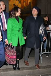 Lea Michele and Spouse Zandy Reich - NYC 12/16/2019