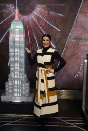 Lea Michele and Tiffany Valentine - Celebrate the 2019 Holiday Light Show at the Empire State Building in New York 12/03/2019