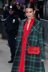 Lea Michele - Outside GMA in NY 12/05/2019