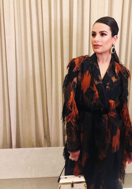 Lea Michele – Social Media 12/10/2019