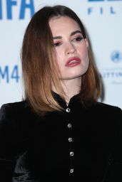 Lily James – British Independent Film Awards 2019