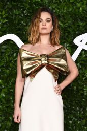 Lily James – Fashion Awards 2019 Red Carpet in London