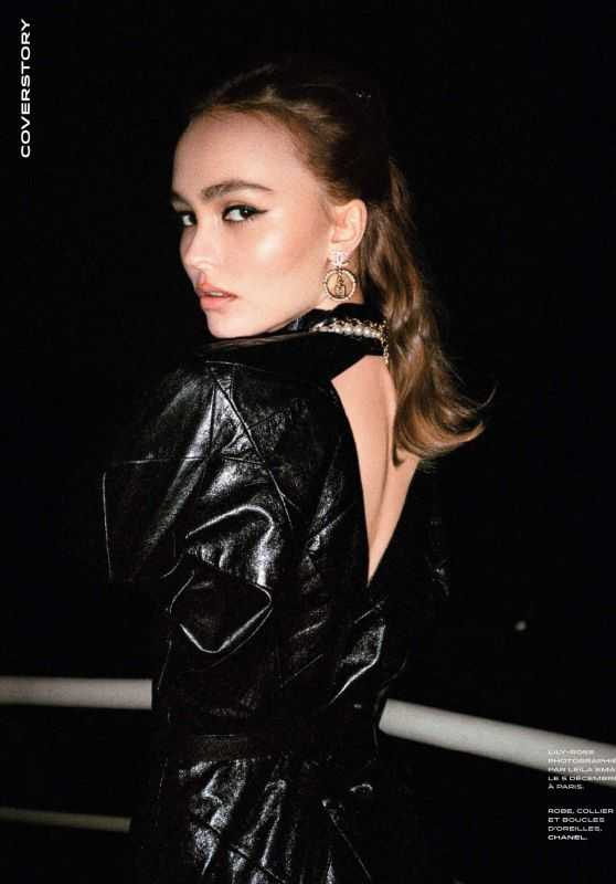Lily-Rose Depp - Grazia France 12/20/2019 Issue