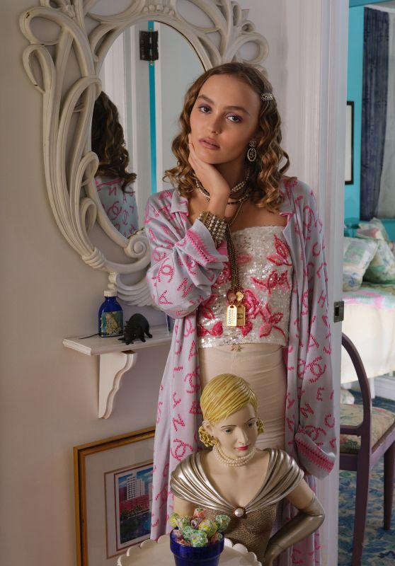 Lily-Rose Depp - The Face Magazine Winter 2019 Photos