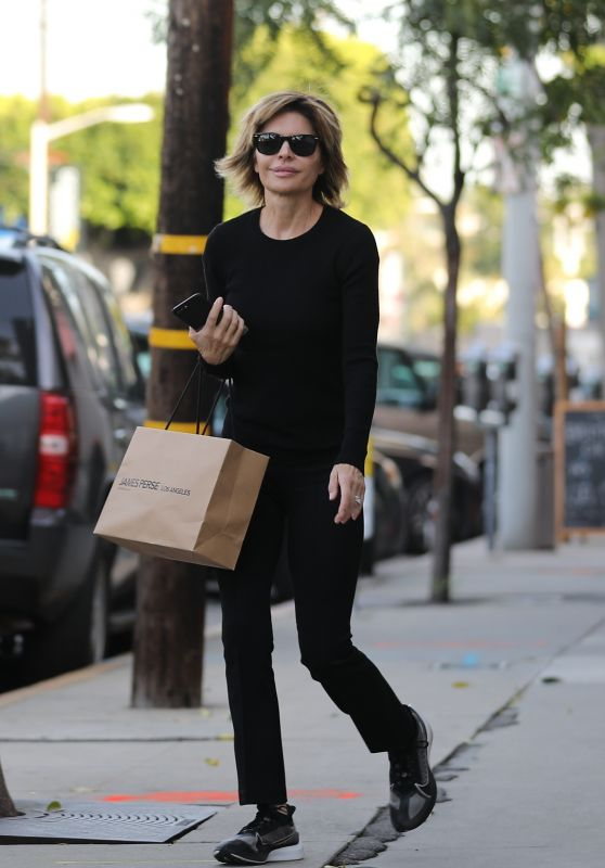 Lisa Rinna - Christmas Shopping in Beverly Hills 12/21/2019