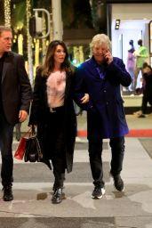 Lisa Vanderpump and Ken Todd - Shopping in Beverly Hills 12/22/2019