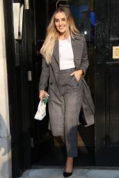 Little Mix Looks Chic - Global HQ in London 12/04/2019