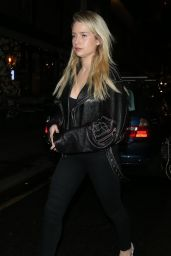 Lottie Moss - UYC London Christmas Dinner in London 12/17/2019