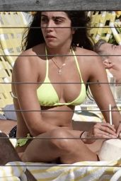 Lourdes Leon in a Bikini in Miami 12/15/2019
