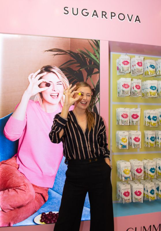 Maria Sharapova - Sugarpova Meet & Greet at the Candylicious Store in Dubia 12/20/2019