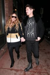 Mariah Carey and Bryan Tanaka - Out in Aspen 12/20/2019