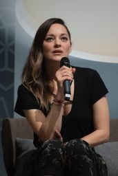 "Marion Cotillard - ""Conversation with"" at the 18th Marrakech International Film Festival"
