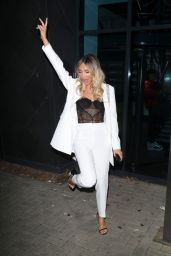 Megan McKenna - Leaving X Factor in London and Partying at Raffles in London 11/30/2019