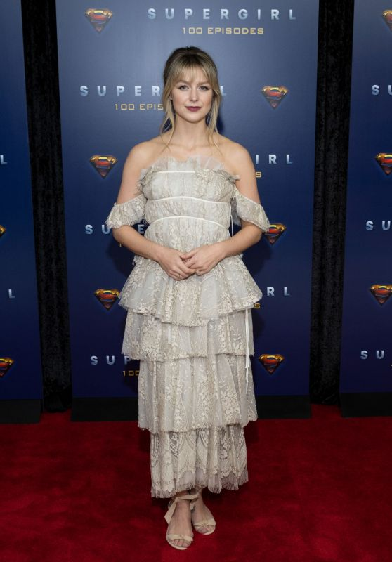 "Melissa Benoist - ""Supergirl"" Celebrates 100 Episodes"