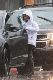 Mila Kunis - Rainy Sunday in Los Angele 12/08/2019