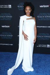 "Naomi Ackie – ""Star Wars: The Rise Of Skywalker"" Premiere in LA"