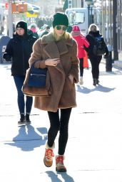 Nicky Hilton Winter Style - Christmas Shopping in New York City 12/19/2019