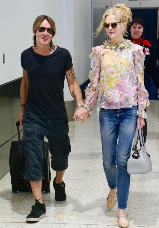 Nicole Kidman and Keith Urban - Airport in Sydney 12/22/2019
