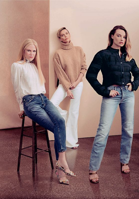 Nicole Kidman, Charlize Theron and Margot Robbie - ELLE Italy 05/01/2020 Issue