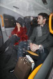 Nicole Scherzinger and Thom Evans - Outside Tramp Nightclub in London 12/17/2019