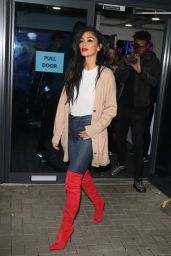 "Nicole Scherzinger - Arriving Back at Her Hotel After the ""X Factor: Celebrity"" Live Final in London 11/30/2019"